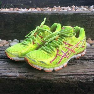 Women's ASICS running shoes 7.5